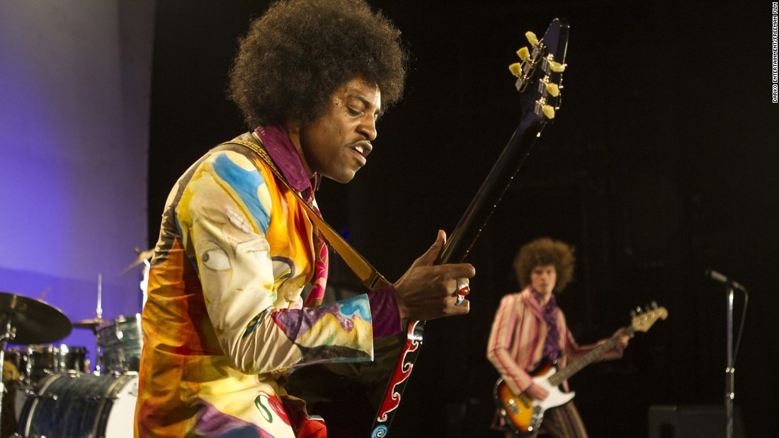 "<strong>""Jimi: All Is by My Side"" (2013)</strong>: André Benjamin stars as rocker Jimi Hendrix in this biopic. <strong>(Netflix) </strong>"