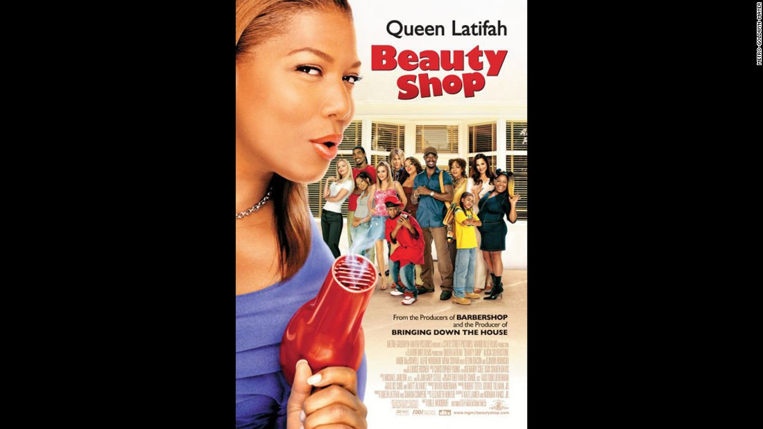 "<strong>""Beauty Shop"" (2005): </strong>Queen Latifah portrays a hairstylist with a beauty shop full of outspoken employees and clients. <strong>(Hulu)</strong>"