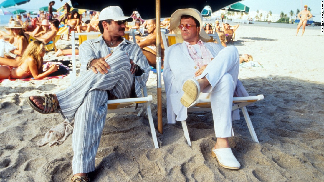 "<strong>""The Birdcage"" (1996</strong>): The late Robin Williams and actor Nathan Lane play a couple whose son is getting married in this comedy. <strong>(Hulu) </strong>"