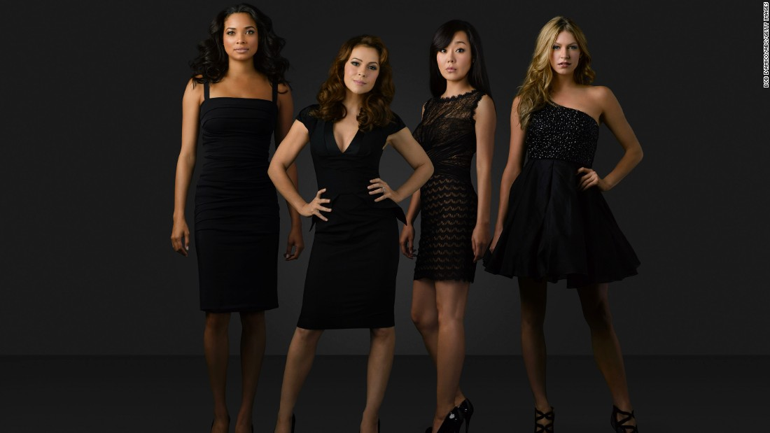 "<strong>""Mistresses"" Season 2: </strong>Rochelle Aytes, Alyssa Milano, Yunjin Kim and Jes Macallan star in this series about four friends and their complicated love lives.<strong> (Hulu) </strong>"