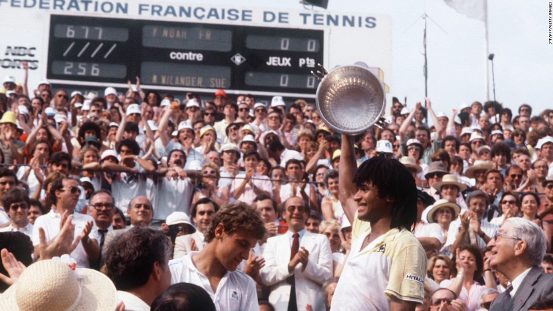 French Open Wilander Goes From Junior To French Master Cnn