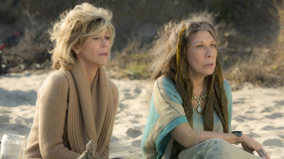 Jane Fonda and Lily Tomlin in 'Grace and Frankie' (Melissa Moseley/Netflix)