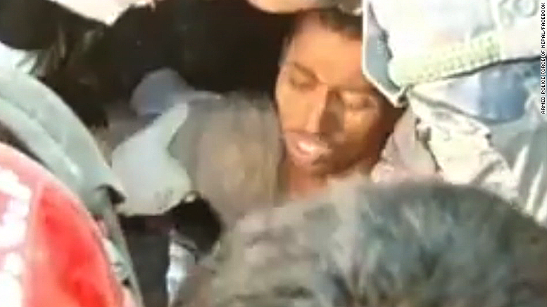 Man pulled from earthquake rubble in Nepal after 80 hours