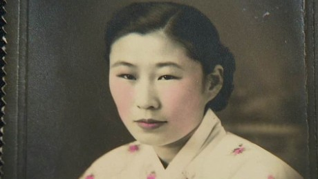 Comfort woman's horrific experience