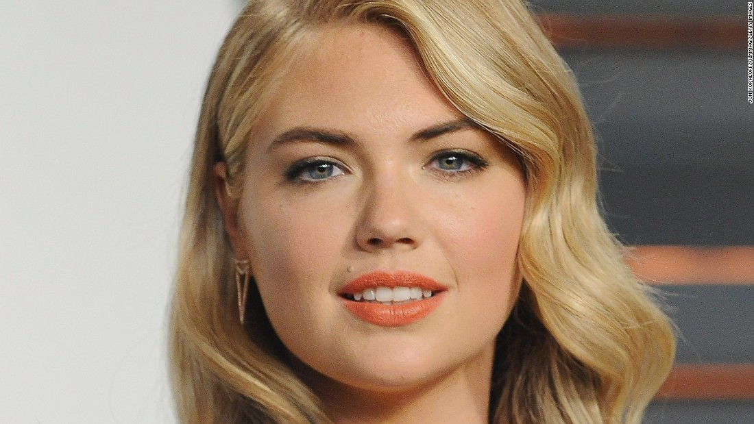 Sports Illustrated swimsuit cover model Kate Upton came in fourth.