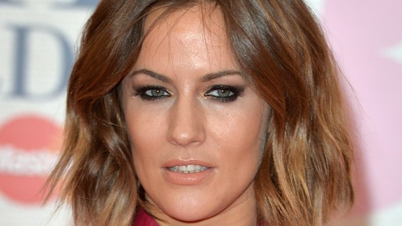 British television host Caroline Flack, who once dated Harry Styles of One Direction fame, came in fifth.