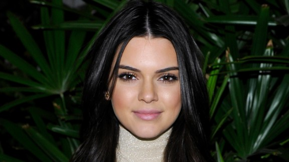 """Reality television star and model Kendall Jenner -- who is also the daughter of Bruce Jenner -- came in second on the  """"FHM 100 Sexiest Women in the World"""" list."""