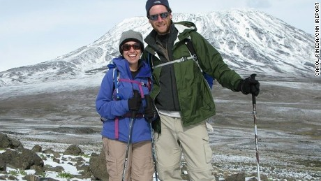 Carol Pineda and Michael MacDonald went trekking through Nepal at the time of the quake.