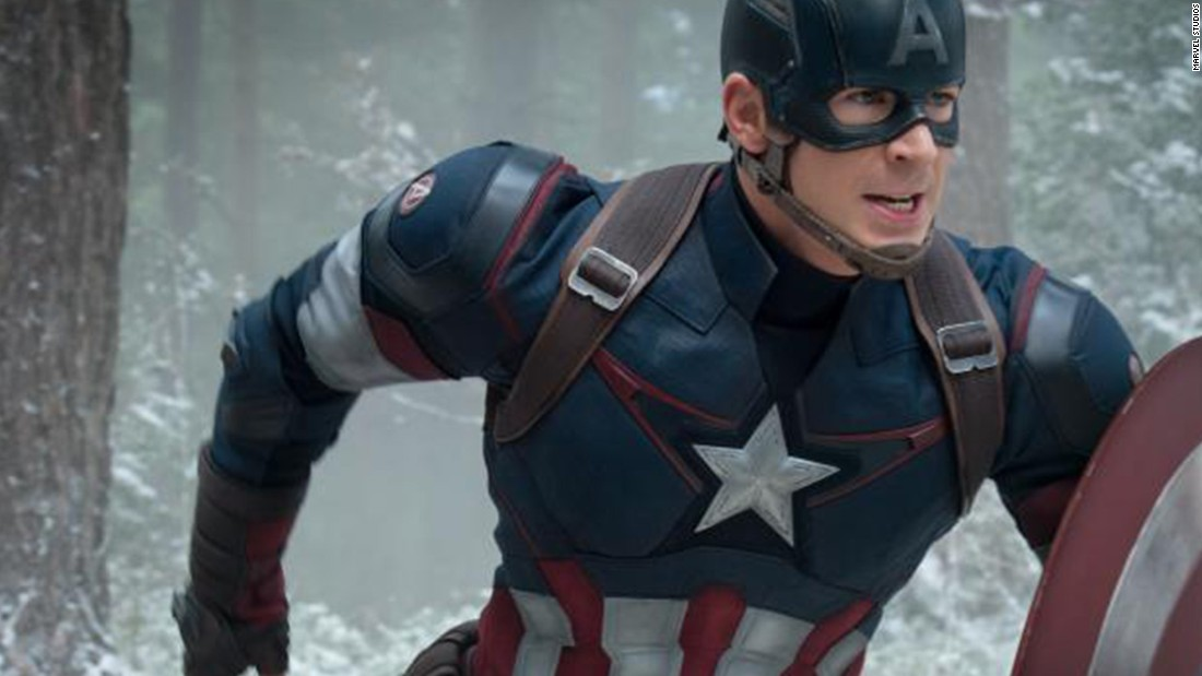 Chris Evans has portrayed Captain America in four movies, with more to come.