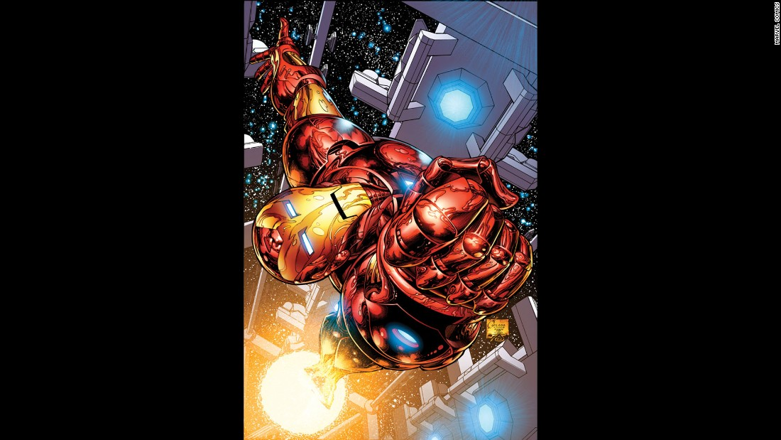 Iron Man was a popular character in the Marvel world.