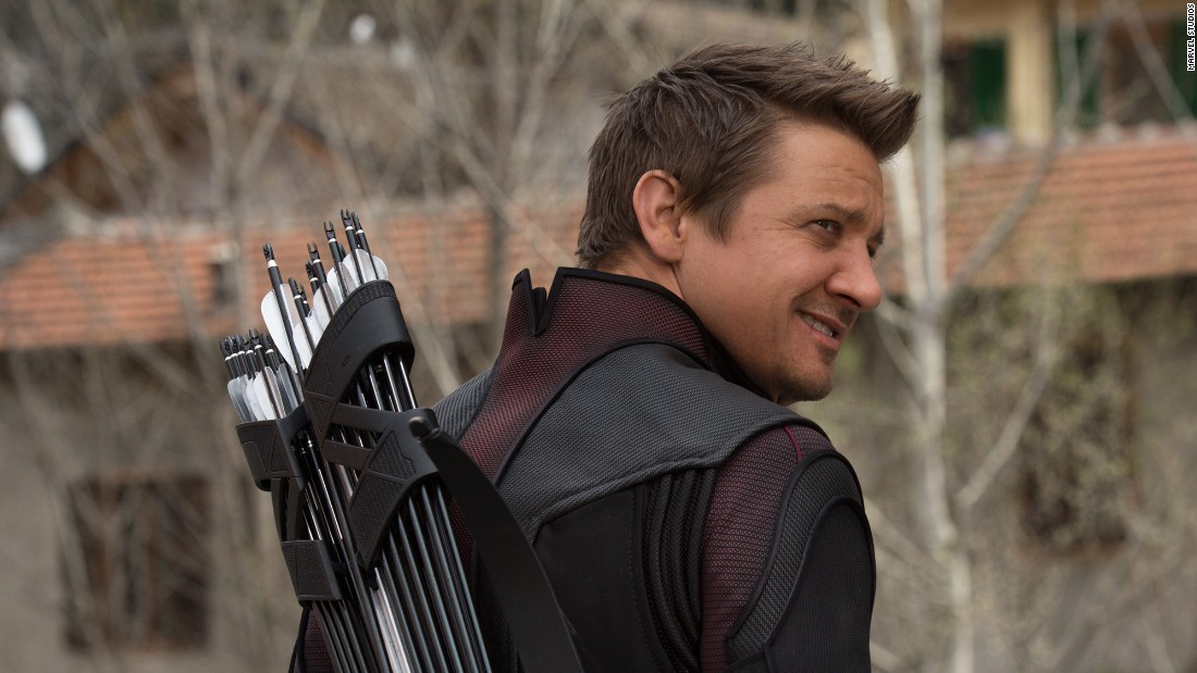 "Jeremy Renner, as Hawkeye, has a larger role in ""Age of Ultron."""