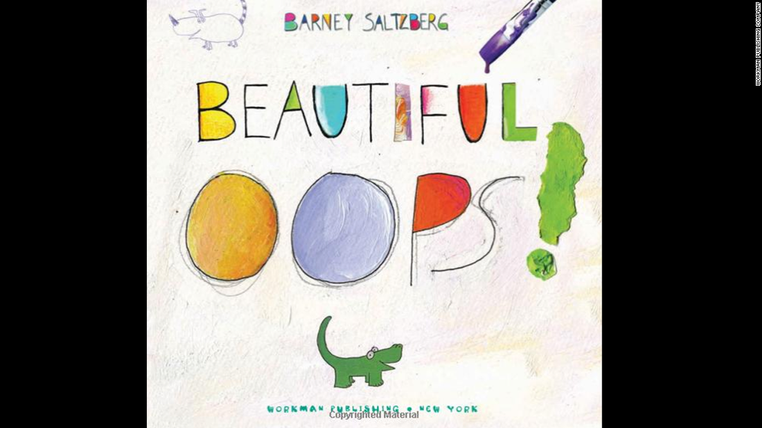 "<strong>Worried about making mistakes? </strong>There are no mistakes in ""Beautiful Oops!"" author Barney Saltzberg's world. Any ""mistake"" can be turned into art."
