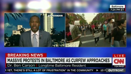 Dr. Ben Carson on Baltimore mom