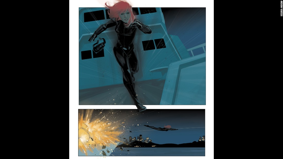 Black Widow started out as a villain during the Cold War Marvel Comics, but is now a hero.