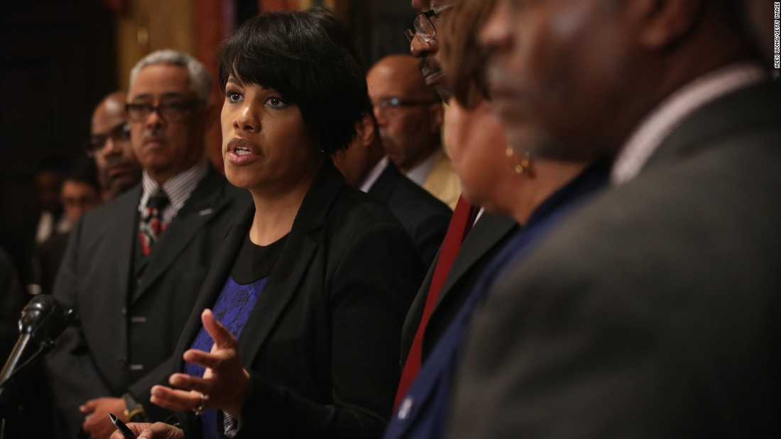 "Baltimore Mayor Stephanie Rawlings-Blake makes a comment that some interpreted as allowing and even inviting violence. ""While we tried to make sure that [protesters] were protected from the cars and the other things that were going on, we also gave those who wished to destroy space to do that as well,"" she said."