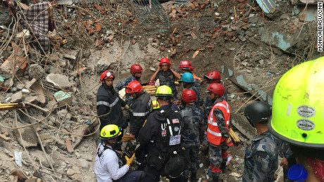 USAID helping in the aftermath of the Nepal quake