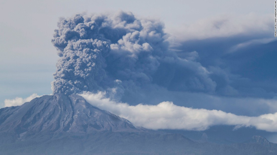 Calbuco Volcano erupts again on April 30. The explosion was described as smaller than the eruptions on April 22 and April 23, CNN Chile said.