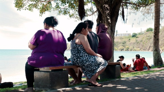 Increasingly sedentary lifestyles have aided the rise in obesity. Obesity is a risk factor for conditions including type II diabetes and diabetes rates have risen dramatically in the region, with almost half of the population diabetic in the Marshall Islands.