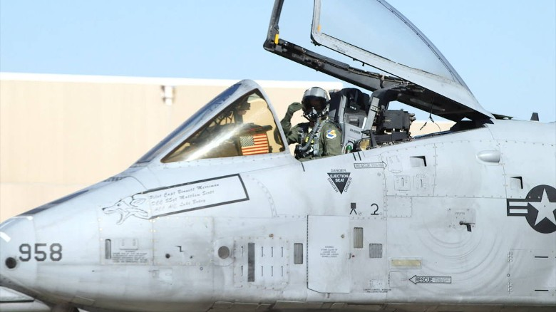 Is the A-10 headed for the graveyard?