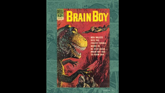 """Brain Boy, also known as Matt Price, debuted in the """"Four Color Comics #1330"""" issue (Dell Comics, April/June 1962). His intellectual superpowers were the result of his parents colliding with an electrical tower when his mother was pregnant with him."""