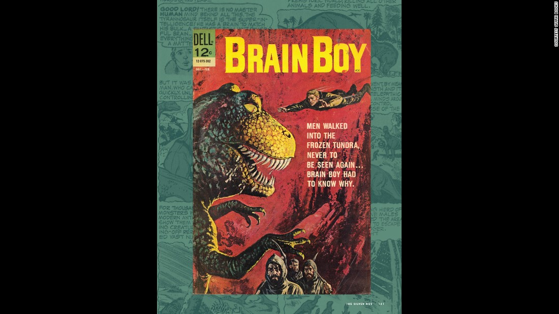 "Brain Boy, also known as Matt Price, debuted in the ""Four Color Comics #1330"" issue (Dell Comics, April/June 1962). His intellectual superpowers were the result of his parents colliding with an electrical tower when his mother was pregnant with him."