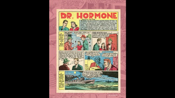 """Vitality, courtesy of a hormone treatment, gave Doctor Hormone a boost. His was a short-lived superhero career after his debut in """"Popular Comics #54"""" (Dell Comics, August 1940)."""