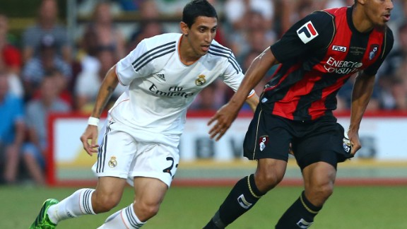 Mendes' client Angel Di Maria was signed by Paris Saint-Germain for $68 million after scoring only four goals at United.