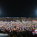 AFCB pitch invasion