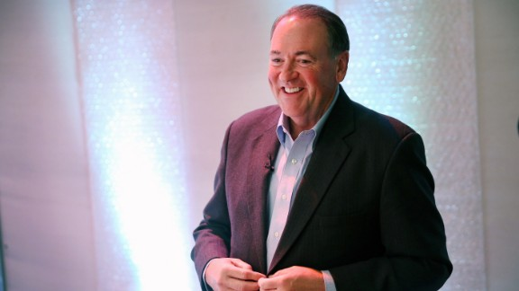 Huckabee was born in the same Arkansas town as former President Bill Clinton. He is an ordained Baptist minister.