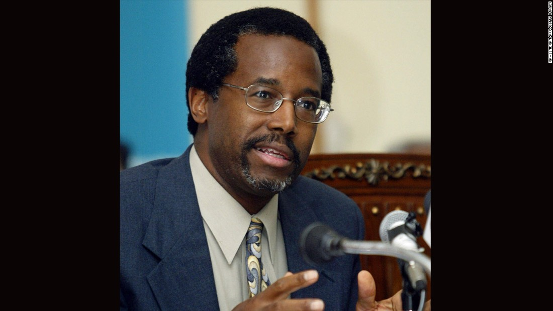 In a story that garnered international attention, Carson was ready to separate a pair of 10-year-old Indian girls, Saba and Farah Shakeel, who are joined at the head in New Delhi, India. Here, he addresses a press conference at the Indraprashtra Apollo Hospital on October 4, 2005.