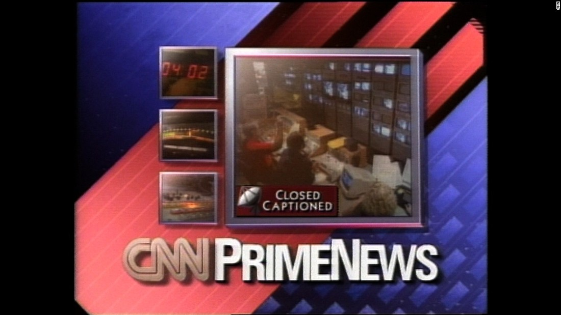 """Prime News"" examined world events, issues and newsmakers. Here, a 1993 broadcast gets underway."