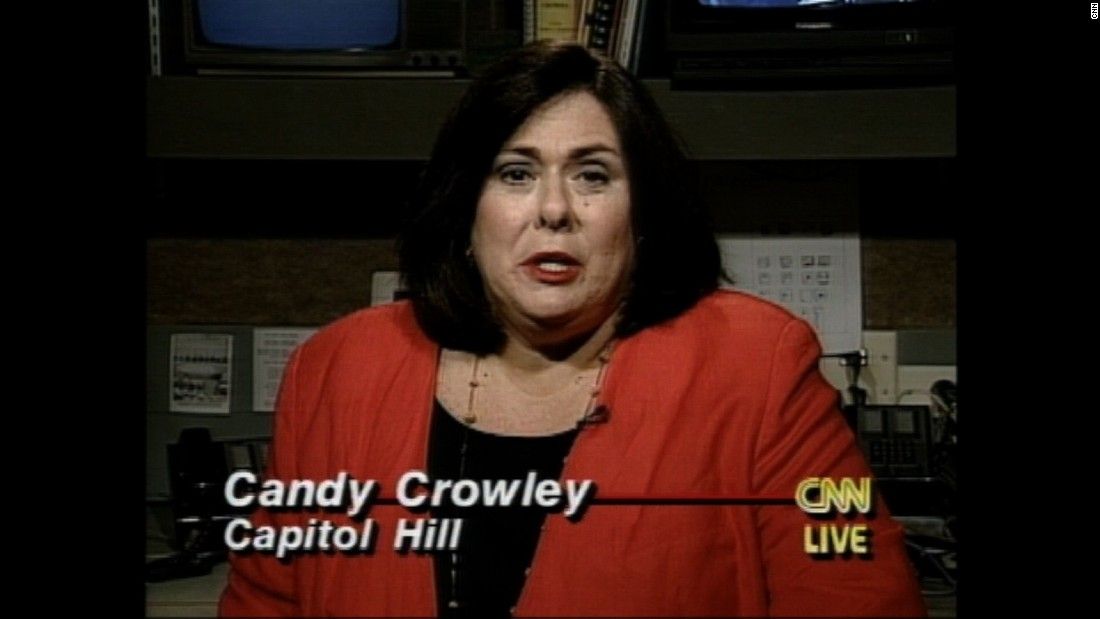 In this 1996 segment, Candy Crowley reports on then-Sen. Bob Dole's departure from Capitol Hill after 35 years. Crowley spent 27 years with CNN.