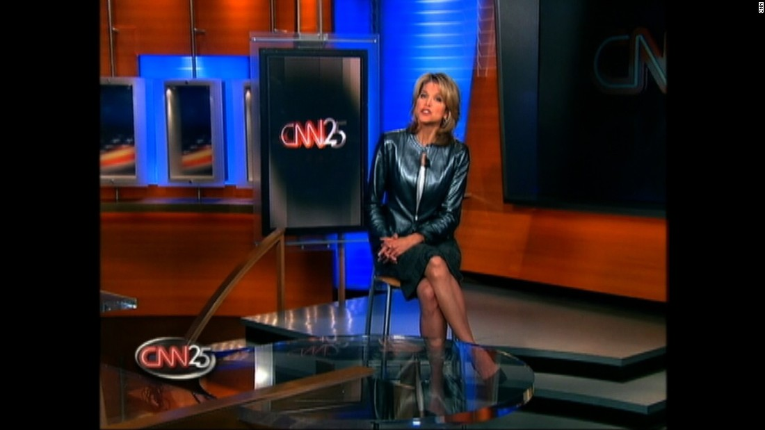 In 2005, Paula Zahn hosted a special program looking back at 25 years of CNN.