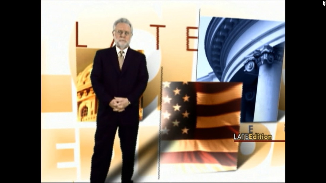 Wolf Blitzer reports from the CNN Election Center in New York in 2008.