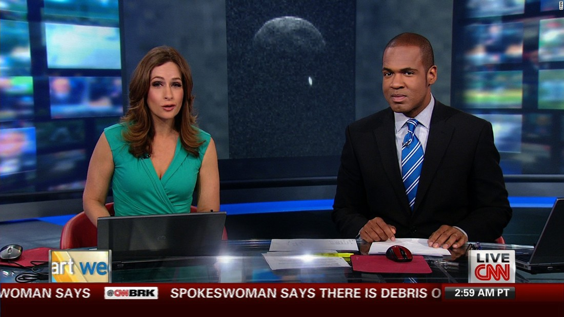 "Alison Kosik and Victor Blackwell host the weekend edition of ""Early Start"" on June 1, 2013."