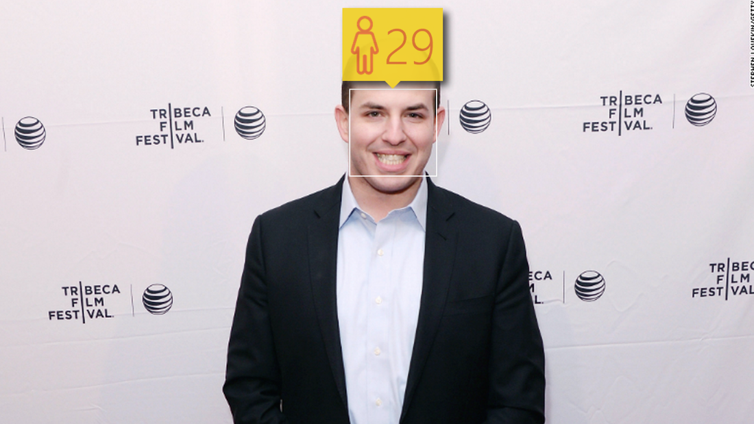 Brian Stelter, CNN's senior media correspondent, is 29 in real life.