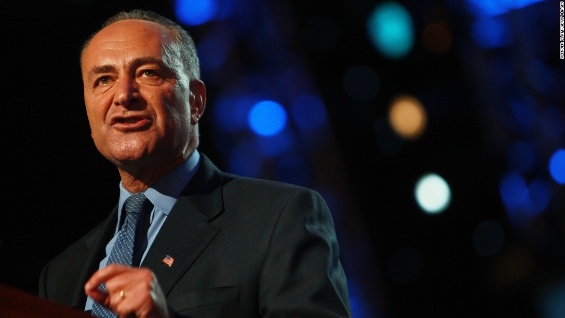 Sen. Chuck Schumer, D-New York, is in line to take Sen. Harry Reid's job in 2017 as Senate minority leader. He is not expected to embrace his colleague's passion for attacking the Koch brothers. Schumer is pictured speaking during the 2008 Democratic National Convention in Denver.