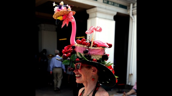 Pink flamingos aren't just for Florida and your front yard.