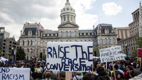 CNN analyst slams Baltimore protest rally
