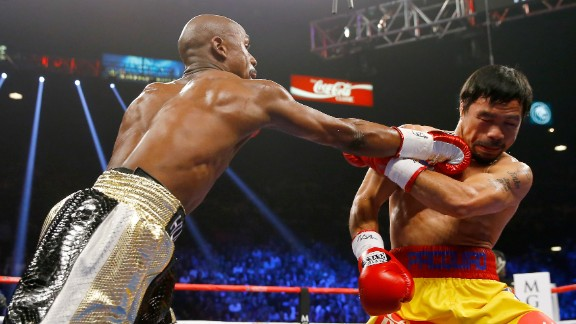 Floyd Mayweather has a right of his own at the MGM Grand Garden Arena.