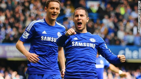 """Football gives and takes away"": Chelsea FC player Eden Hazard after his EPL title-clinching goal last season."