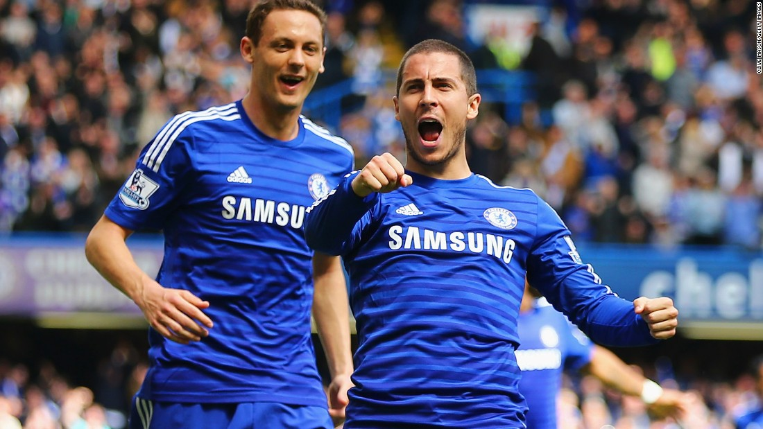Eden Hazard was one of the outstanding players in the Premier League last season. The Belgian was named Professional Footballers' Association player of the year as well as the Football Writer's player of the year -- an award voted for by the British media.