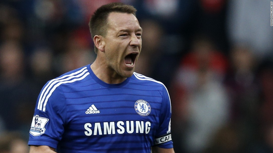 Captain fantastic. John Terry epitomizes the fighting character of Chelsea's defensive resolve in the crucial goalless draw against nearest challengers Arsenal last month.