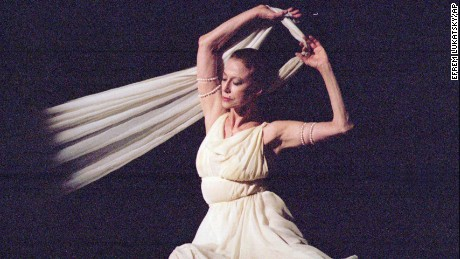 Maya Plisetskaya, seen here in 1996, was widely regarded as one of the greatest ballerinas of her time.