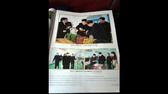 The in-flight magazine on North Korea