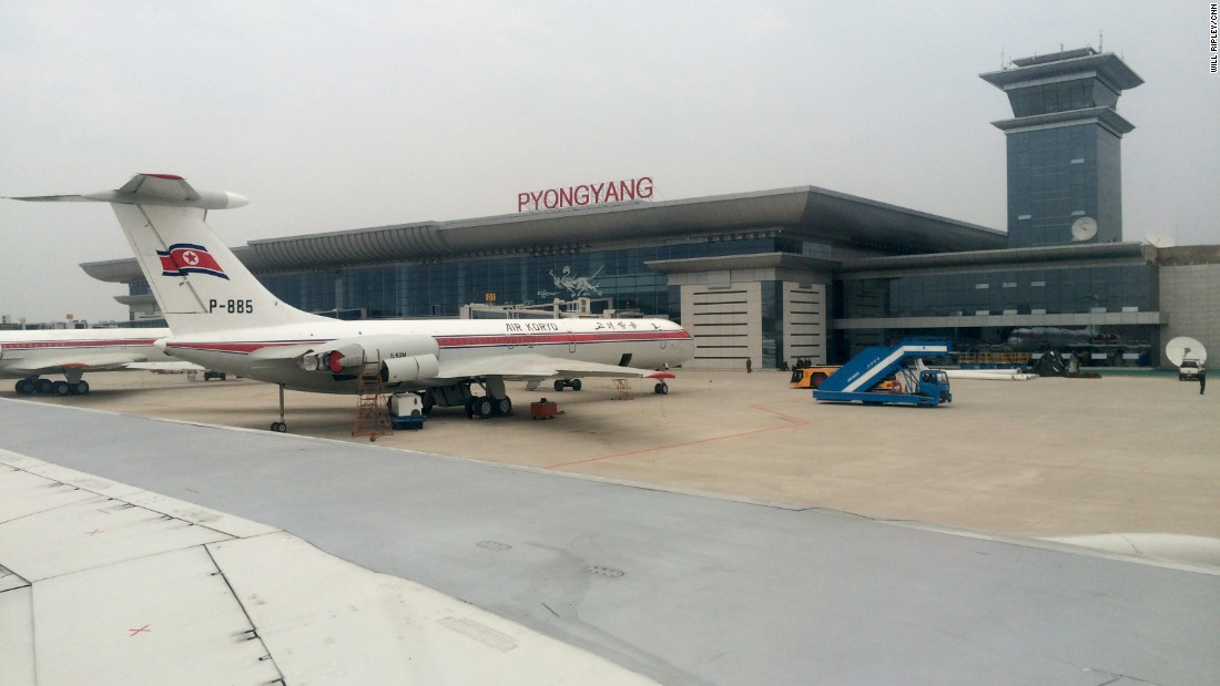 Pyongyang Airport is the first stop on tours of North Korea. Air Koryo is the national airline. It operates direct flights from Beijing and Shenyang in China, and Vladivostok in Russia. Air Koryo has an aging fleet, although it has purchased some newer aircraft in recent years.