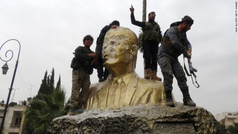 Bashar-al-Assad's grip on Syria tested