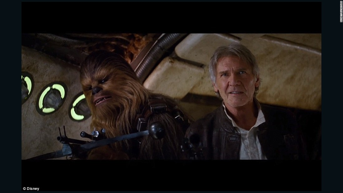 "Both Harrison Ford, as Han Solo, and Peter Mayhew, as Chewbacca, are returning for ""Star Wars: Episode VII - The Force Awakens."""