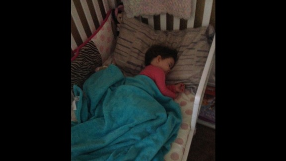 """""""After a year and a half I finally got my little girl to sleep in her own bed."""" -- Courtney Perez, Paso Robles, California"""
