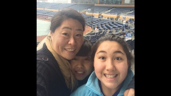"""""""I have always wanted to sing the National Anthem at the Durham Bulls baseball game. When I heard they were holding auditions at the ball park, I told the kids that for once, mommy will be auditioning."""" -- Sinae Santillo, Chapel Hill, North Carolina"""